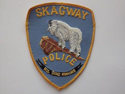 Skagway-Police-Dept-Patch-Alaska-VERY-OLD                                                                                                                                                                                 More