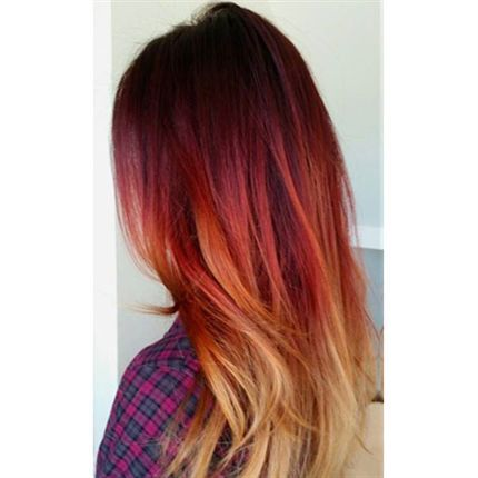 233 best Creative Color images on Pinterest | Gold hair ...