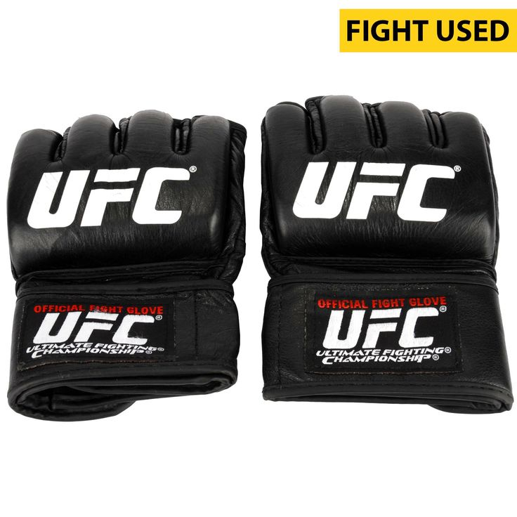 Ildemar Alcantara Ultimate Fighting Championship Fanatics Authentic UFC Fight Night Mir vs. Duffee Fight-Worn Gloves - Fought Kevin Casey in a Middleweight Bout - $399.99