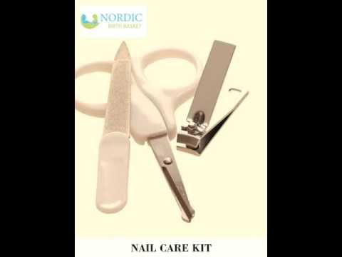 Care and feeding products in our Nordic Birth Basket in video