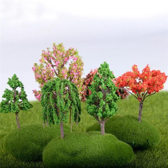 Wooden Bridge Miniature Fairy Garden Craft Bonsai Wedding Decor Accessories LD