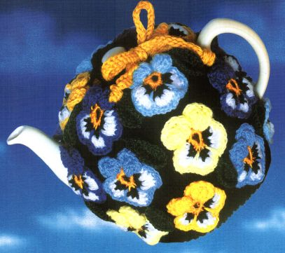 Pansy Tea Cozy