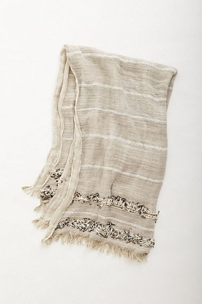 Throw with sequins and fringe / reminds me of a moroccan blanket