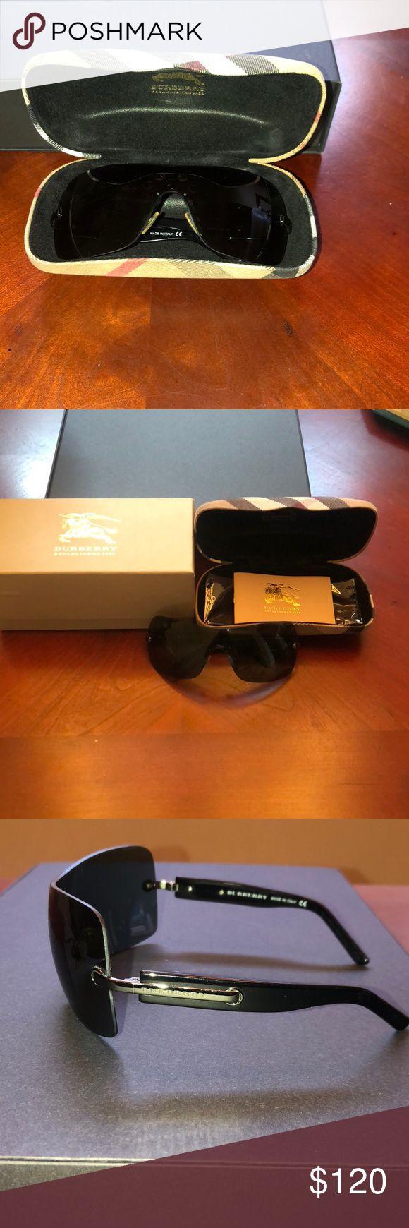 Burberry sunglasses EUC Authentic Burberry Sunglasses Black comes with case and box Burberry Accessories Sunglasses