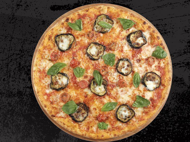 Seventeen Pizza - PİZZA MELANZANE - Özel Domates Sosu, Mozzarella, Fırınlanmış Patlıcan, Közlenmiş Çeri Domates, Sarımsak Yağı, Parmesan, Fesleğen