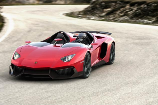 One Off - Lamborghini Aventador J Roadster