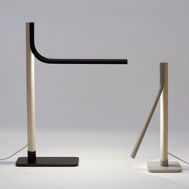 Halfpipe lamp by Sami Kallio Studio