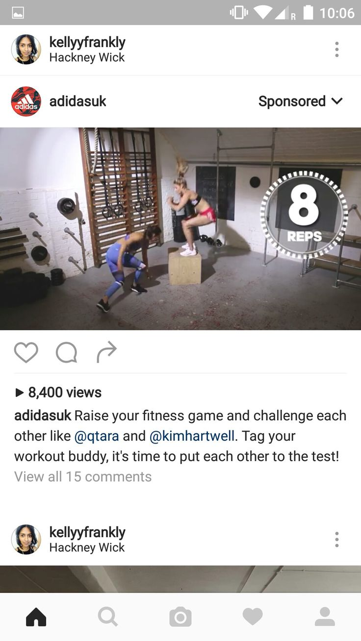 Instagram -  this is not directly relevant to me but I have liked fitness related posts