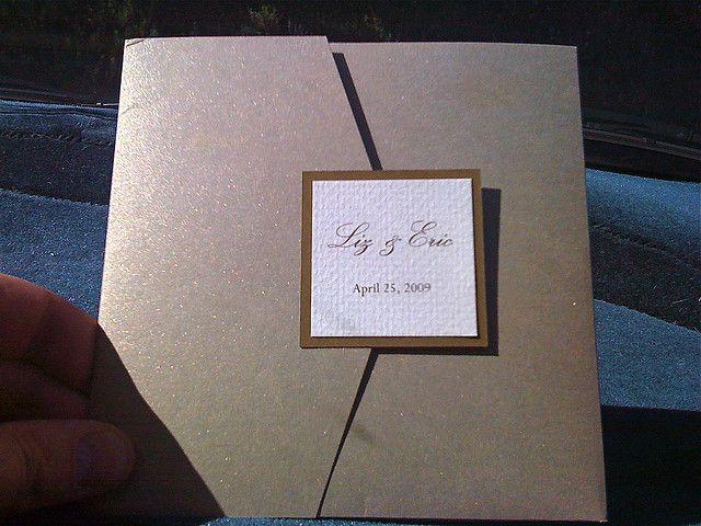 150649 Pocket Folder Wedding Invitations 2 Pocket Folder Wedding Invitations