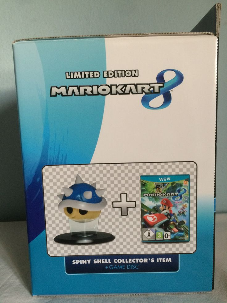 Mario Kart 8 LE other lateral box.