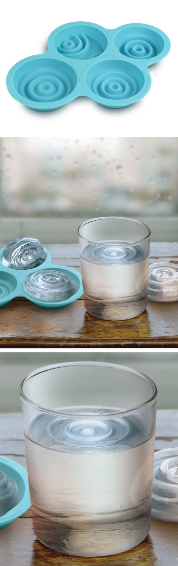 Rainy day ice mold #product_design This is so cool... haha I need to buy this mold.