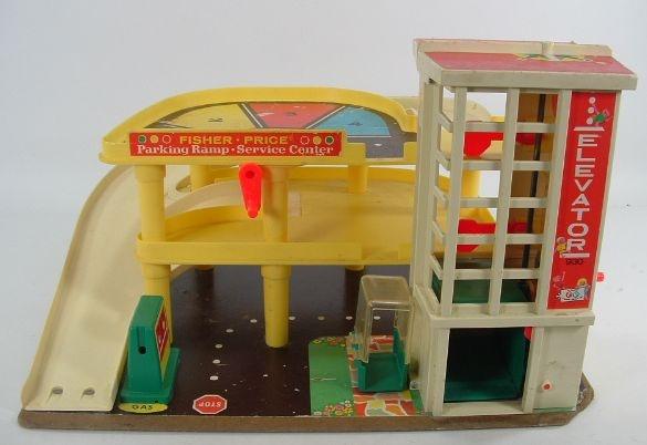 Fisher-Price car center: Price Parks, Little People, Childhood Memories, My Boys, Parks Garage, Toys, Vintage Fisher Price, Kids, Cousins