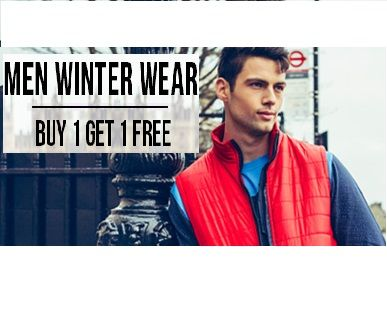 Yepme is offering Buy one Get one free on Men Winter wear How to catch the offer: Click here for offer page Add Winter wearin your cart Login or Register Fill the shipping details Make final payment