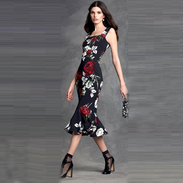 Новое поступление топ формальные вырос цветочные узоры черные вечерние платья для ну вечеринку чай длина труба стиль халат 2016 тп-1