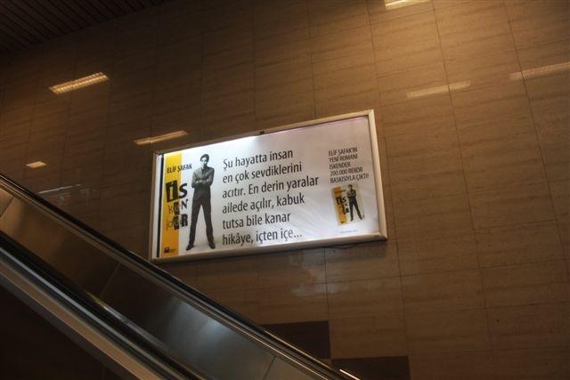 Iskender. Subway ads.