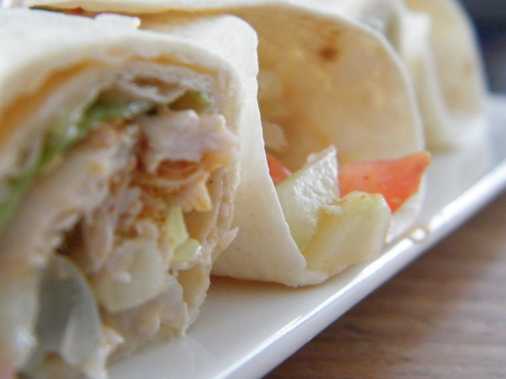 Snelle lunchwraps - OhMyFoodness
