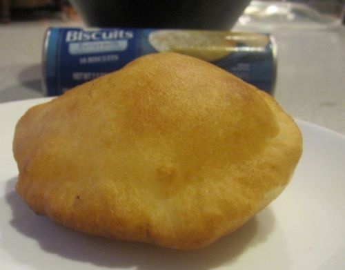 Who came up with this? Smart! Monica's Indian Express: Instant Pillsbury Biscuit-Bhatura