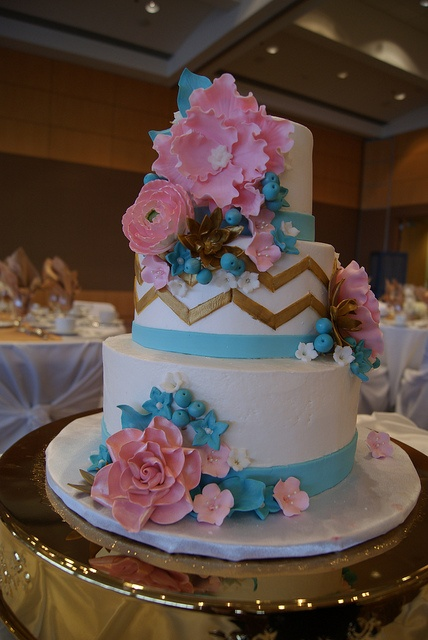 Wedding Cake By How Sweet It Is Cakes Via Flickr
