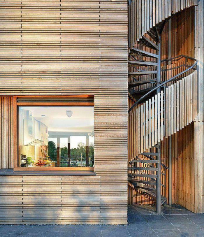 M s de 25 ideas incre bles sobre escaleras exteriores en for Escaleras metalicas pequenas