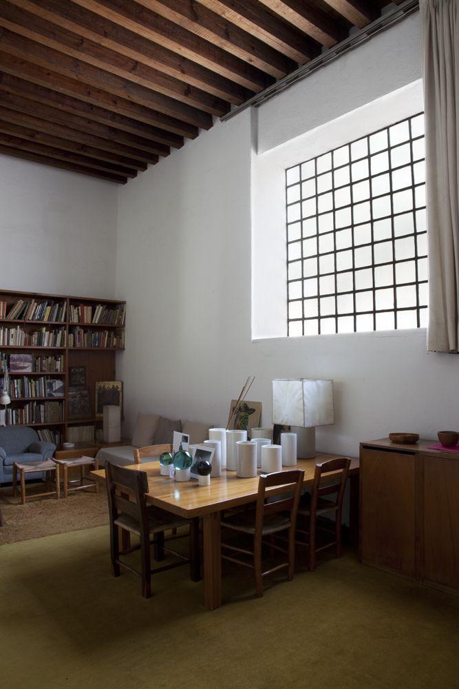 Casa Estudio - Luis Barragan - via flickr - Aaron Ornelas