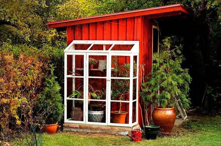 bygga växthus av gamla fönster - Sök på Google