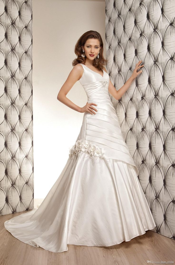 Cheap Covered Button - Discount 2014 Backless Wedding Dress Sexy a Line V Online with $103.4/Piece | DHgate