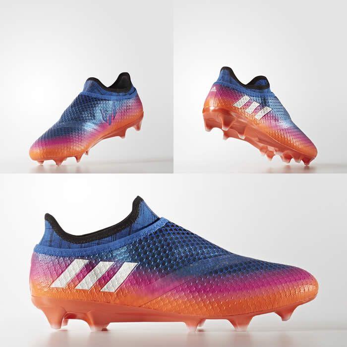 Chegou na loja Adidas a nova Chuteira Adidas Messi 16+ PureAgility. Com design todo especial, ela conta com cadarço interno, além de uma série de tecnologi