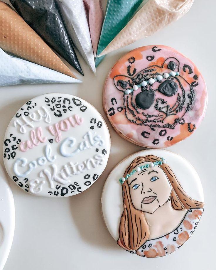 Tiger King, Carole Baskin, Decorative Cookies in 2020