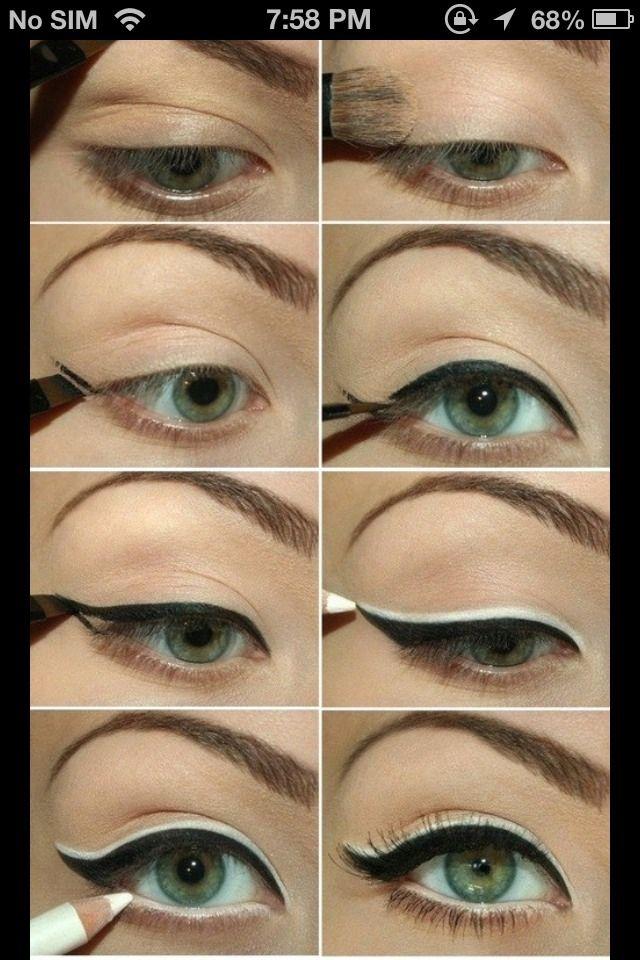 Make Your Eyes Look Bigger #Beauty #Trusper #Tip