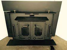 used wood burning fireplace inserts buck stove 27000