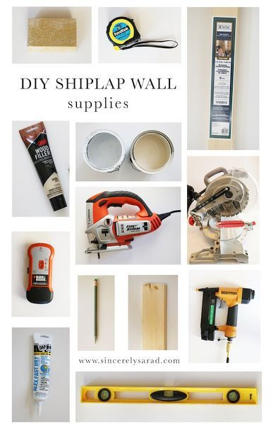 diy shiplap wall kitchen design