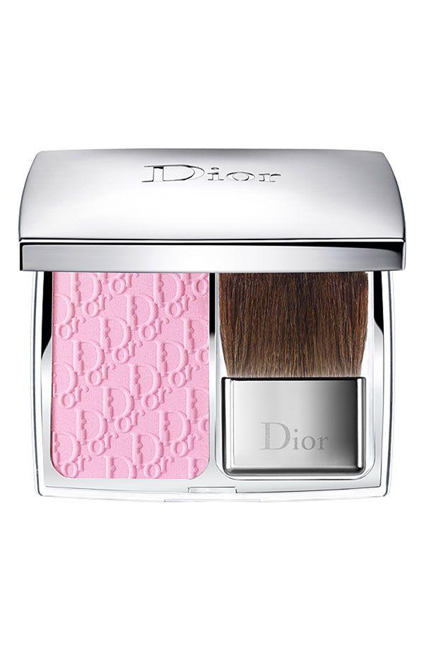 Have - Dior 'Rosy Glow - Petal' Awakening Blush.  Nice pink