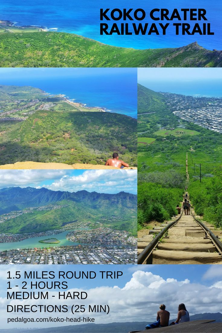 Hiking Hawaii: Koko Head Hike. US hiking trails, Oahu hikes for Hawaii vacation!Best Oahu hiking trails give you things to do near beaches for swimming, snorkeling! List, planning tips fromWaikiki, Honolulu. Morning hiking, afternoon shopping, eating food at restaurants!Outdoor travel destinations for the bucket list for budget adventures! Add outfits, what to wear in Hawaii, what to pack for Hawaii packing list. Oahu hikes pocket guide, Oahu travel guide book pdf, map. #hawaii #oahu