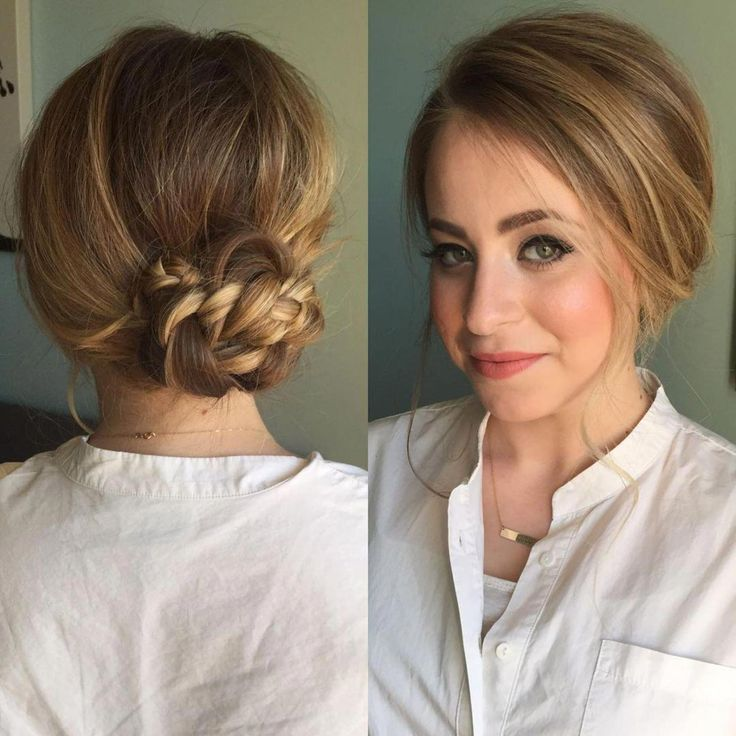 60 Updos for Thin Hair That Score Maximum Style Point #hairupdos