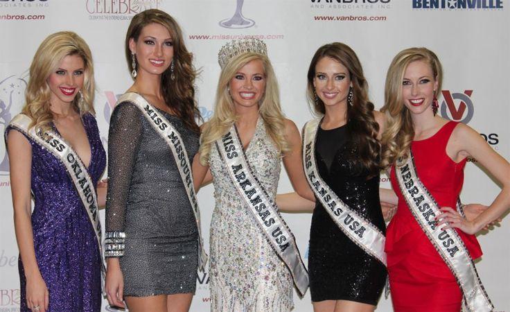 Miss Arkansas USA 2013 Hannah Billingsley (C)