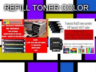 refill tinta & toner printer inkjet laserjet Canon,Hp,Epson,Brather,Samsung,Panasonik,Xerox: Refill Toner HP laserjet Color jakarta