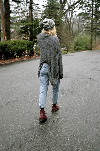 Jeans and doc martens