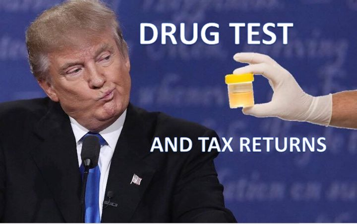 Second debate, same thing: the idiot can't stop sniffling. Donald says he doesn't use drugs, but then, according to Politifact, Donald lies at least 70% of the time. Hmmm...