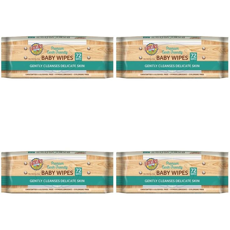 Earth's Best Sensitive Baby Wipes Tendercare Earth Friendly 4X 288 Count | eBay