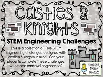 STEM Engineering Challenges Pack ~ Castles & Knights ~ Set  $