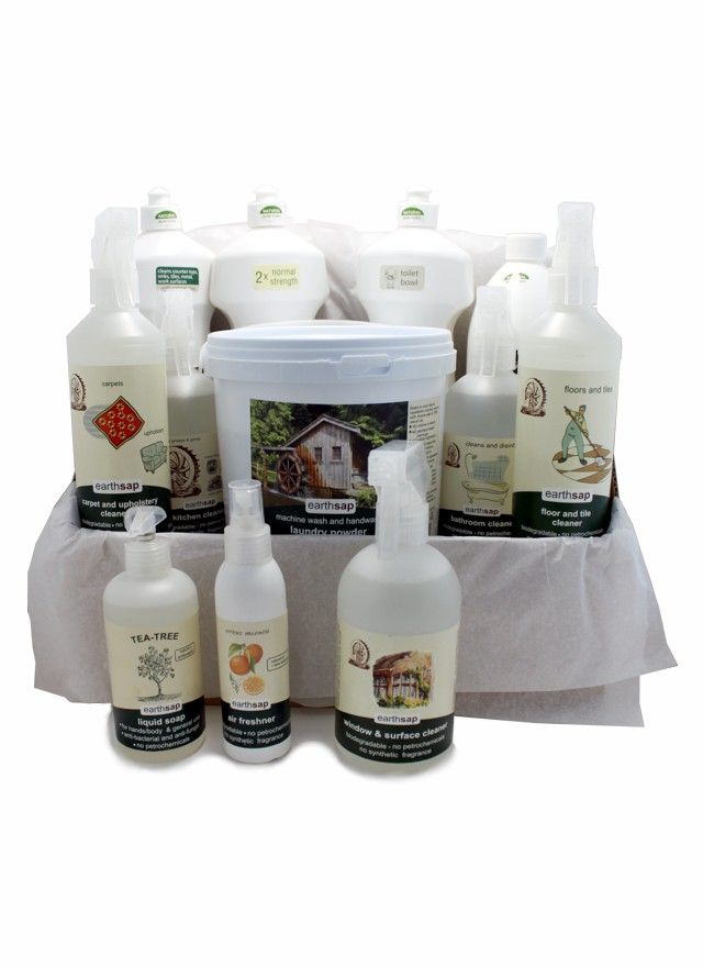 Chemical Free Home Care Package From: R695,95