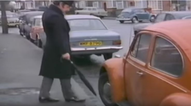 Old sketch show by an Irish comedian named Dave Allen, the sketch was aired in the 70`s or 80`s on the BBC.