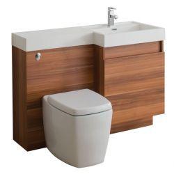 Tc trafalgar bathroom vanity unit wc unit 1200 basin for Tc bathrooms