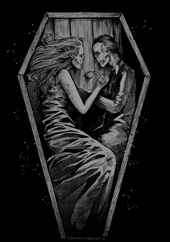 There will only ever be one person I would spend eternity in a coffin with. Alas he is gone.