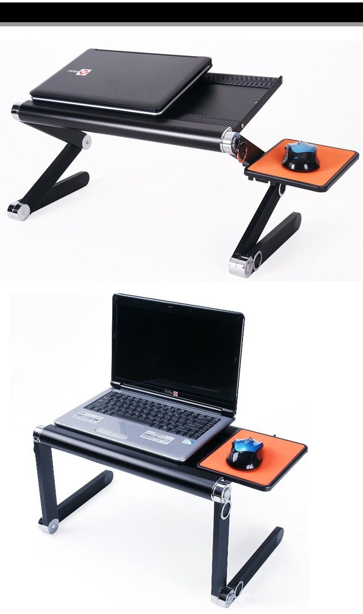 291 best pratique images on pinterest custom in laptop for Table ordinateur