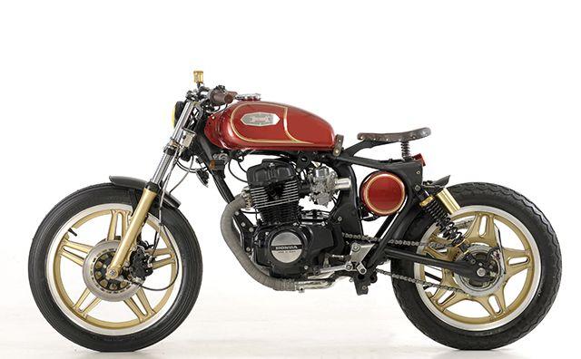 Honda CB400N 'Brigante' by Emporio Elaborazioni Meccanich