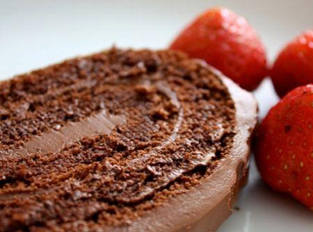 Torta gelada de chocolate - http://www.boloaniversario.com/torta-gelada-de-chocolate/
