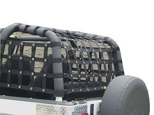 Dirty Dog Netting for Jeep Wrangler YJ 1992-1995