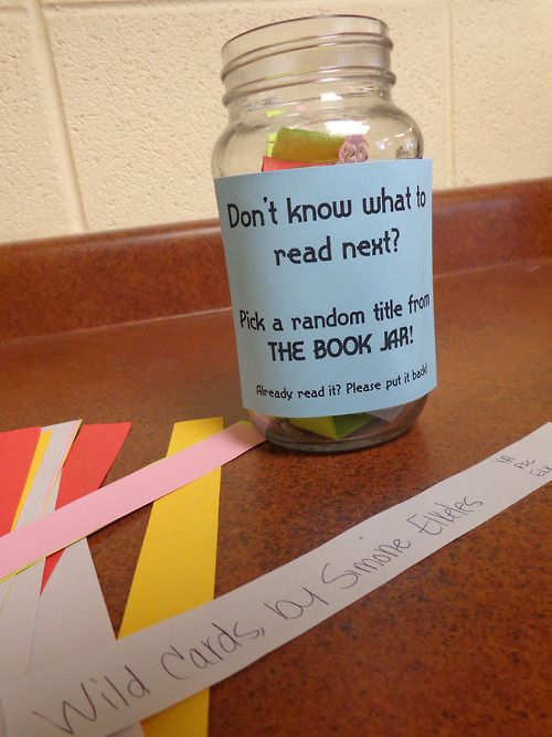"catagator:  I might have to try this for a passive program next month (like ""Blind Date with a Book,"" but without having to figure out a cir..."