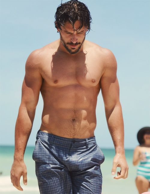 wet: At The Beaches, Eye Candy, Joemanganiello, Beautiful Men, True Blood, Joe Manganiello, Swim Trunks, Hugh Jackman, Hot Men